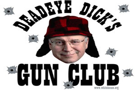 dick cheney hunting. President Dick Cheney is