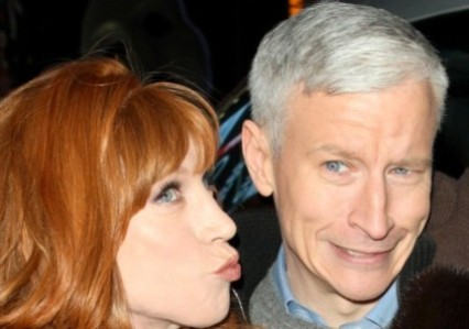 kathy griffin Anderson Cooper Set to Propose to Kathy Griffin at Midnight