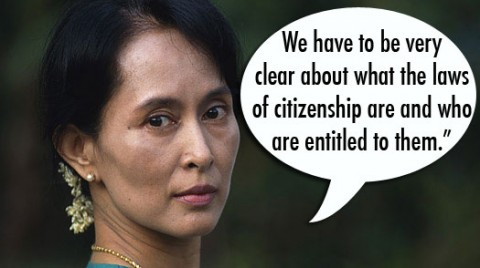 aung san suu kyi defends rohingya muslims the sail. Black Bedroom Furniture Sets. Home Design Ideas