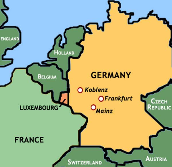Luxembourg Annexes Germany  GlossyNewscom