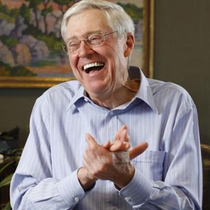 Koch bros top 100 billion dead pharaohs impressed for Charles und david koch