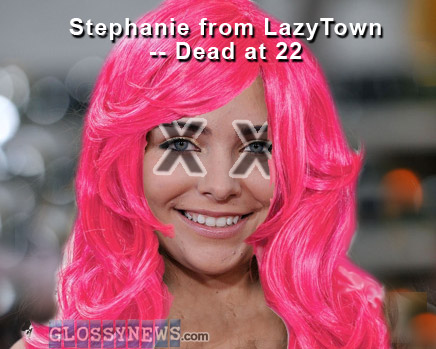 Lazy town stefani nackt sex yes
