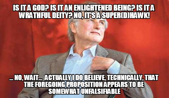 dawkins unfalsifiable