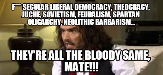 russell brand political relativism