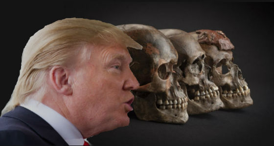 Genetic history mapped: Trump full of Neanderthal DNA